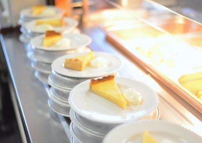 Mmm, custard tarts at the Westway