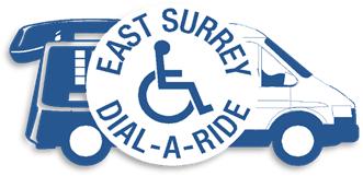 East Surrey Dial-a-Ride logo