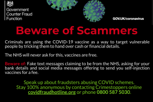 Beware of scammers, linkedin v5